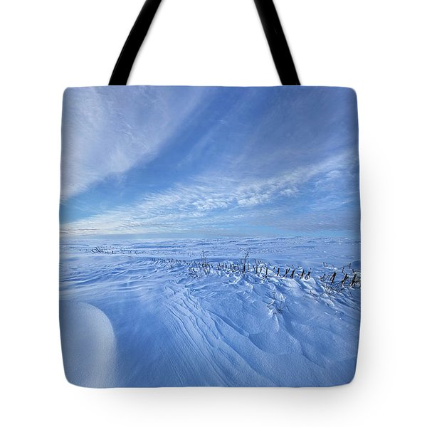 Tote Bag featuring the photograph Baby It's Cold Outside by Phil Koch