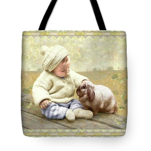 Baby Pats Bunny Tote Bag