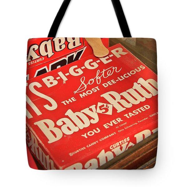 Baby Ruth Tote Bag
