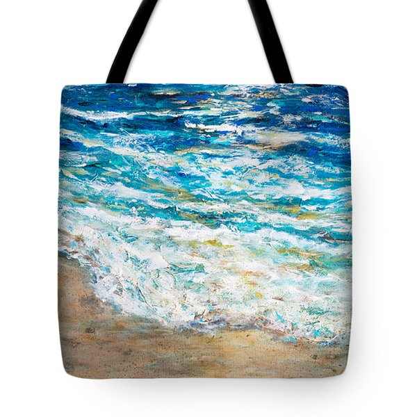 Baby Sea Turtles Iv Tote Bag