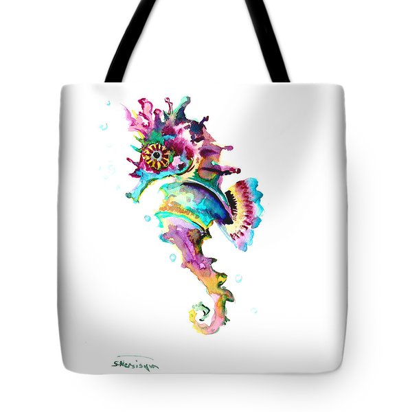 Baby Seahorse Tote Bag