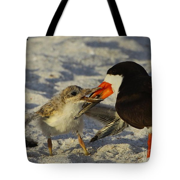 Baby Skimmer Feeding Tote Bag