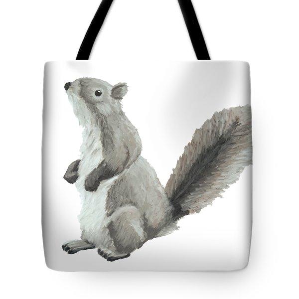 Baby Squirrel Tote Bag