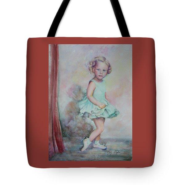 Baby's Debut Tote Bag