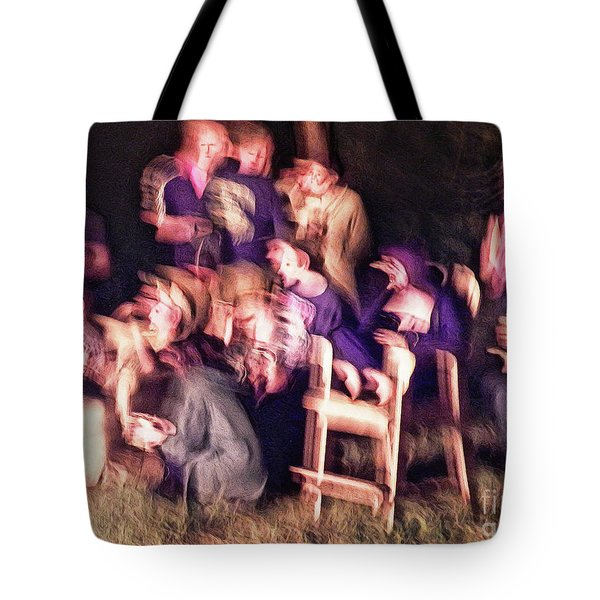 Bacchanalian Freak Show With Hieronymus Bosch Treatment Tote Bag