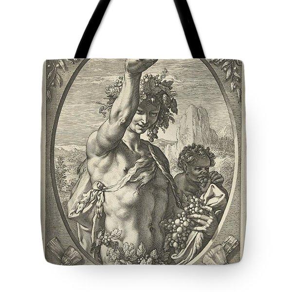 Bacchus God Of Ectasy Tote Bag