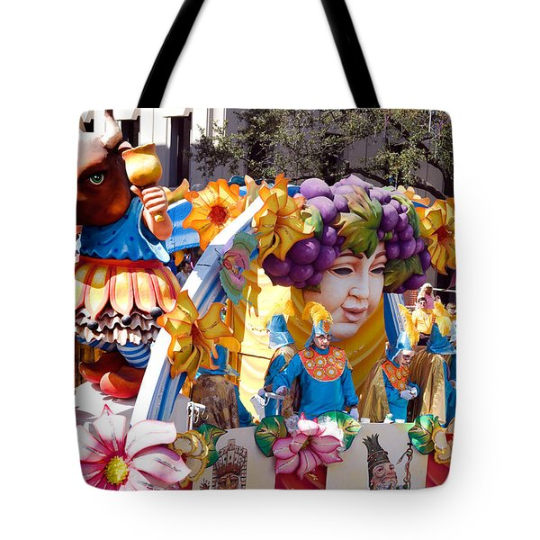 Bacchus Mardis Gras Float Tote Bag