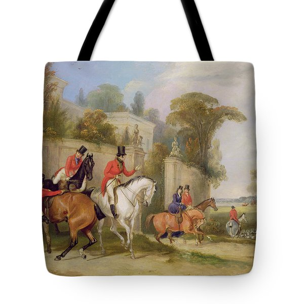 Bachelor's Hall - The Meet Tote Bag by Francis Calcraft Turner