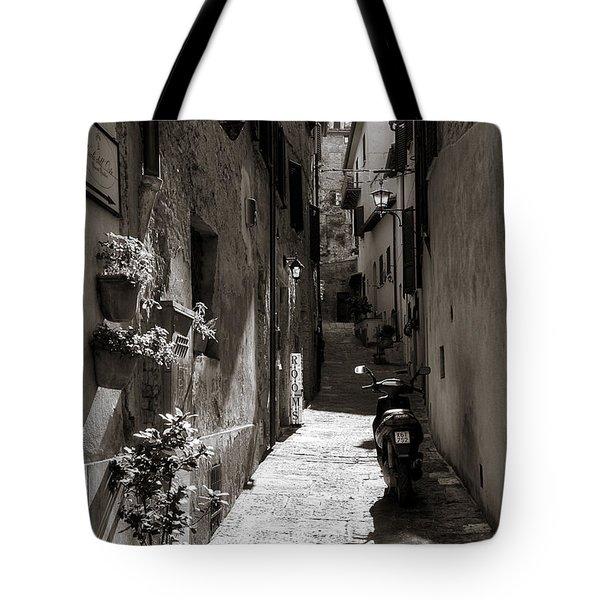 Back Alley 1 Tote Bag by Deborah Scannell