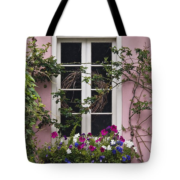 Back Alley Window Box - D001793 Tote Bag