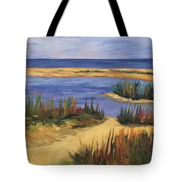 Back Bay Beach Tote Bag