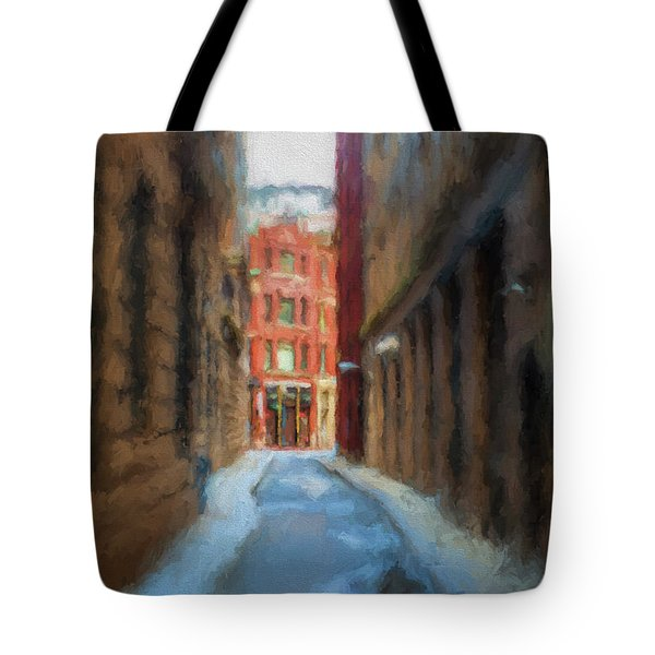 Back Bay Boston Tote Bag
