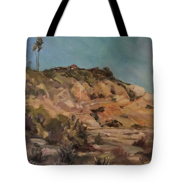 Back Bay Cliff 1 Tote Bag