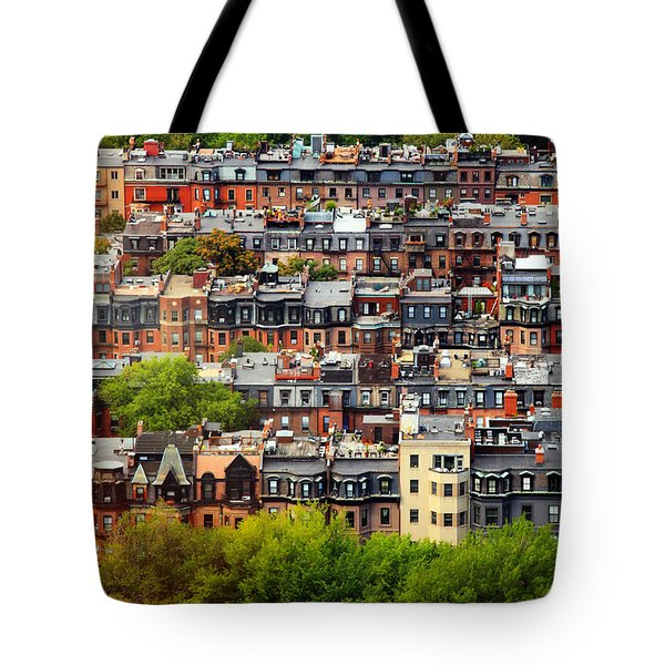 Back Bay Tote Bag by Rick Berk