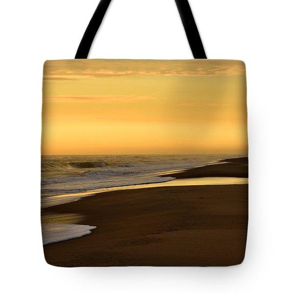 Back Bay Sunrise Tote Bag