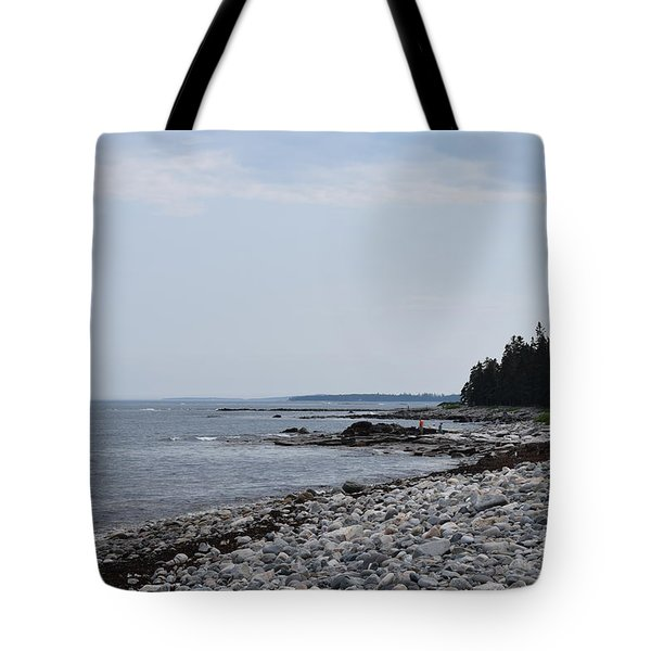 Back Beach Tote Bag