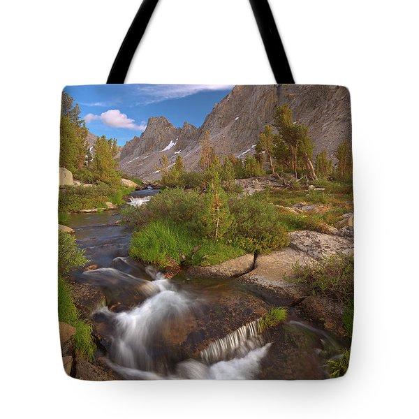 Back Country Creek Tote Bag