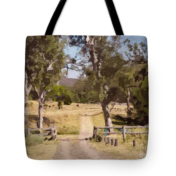 Back Country Farm Track Tote Bag