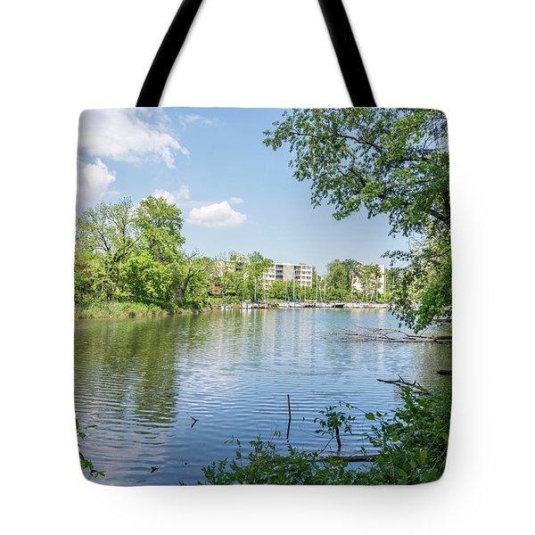 Back Creek At Severn House Tote Bag