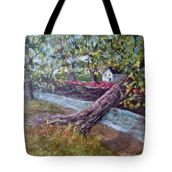 Back Creek Tote Bag