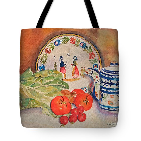 Back From Market Tote Bag