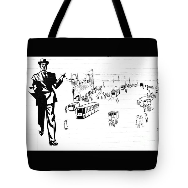 Back In Early Twenties. Tote Bag
