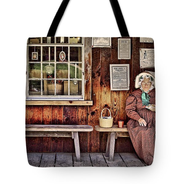 Back In The Days Tote Bag by Evelina Kremsdorf