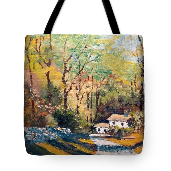 Back In The Neighborhood Tote Bag