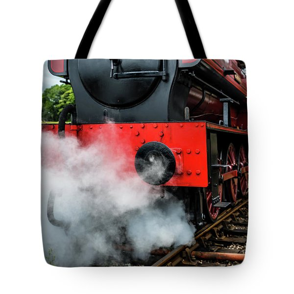 Tote Bag featuring the photograph Back It Up by Nick Bywater
