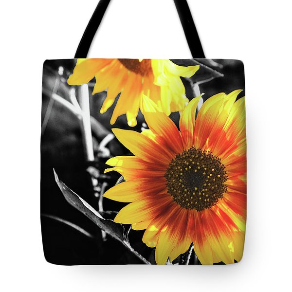 Back-lit Brilliance Tote Bag