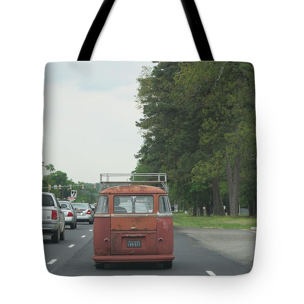 Back Of The Bus Tote Bag