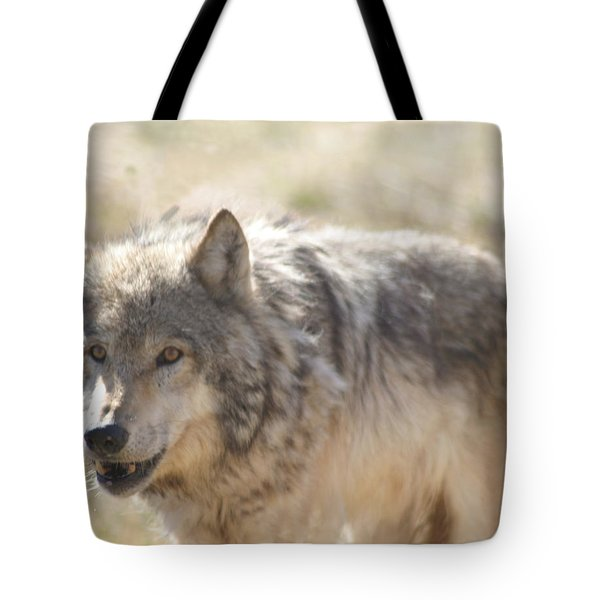 Back Off Buddy Tote Bag by Gary Baird