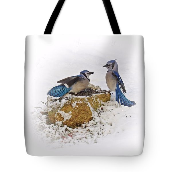 Back Off Tote Bag by MTBobbins Photography