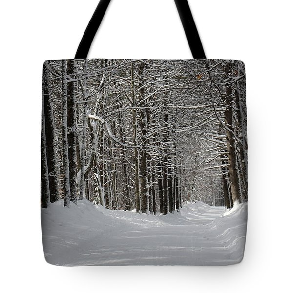 Back Rd Nh Tote Bag