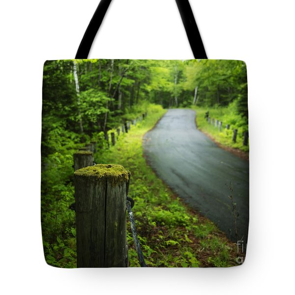 Back Road Tote Bag