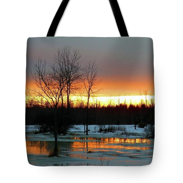 Back Roads Of Clayton Tote Bag