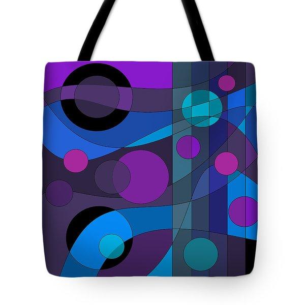 Back Room Blues Tote Bag
