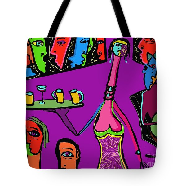 Back Room Tote Bag