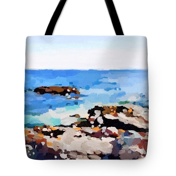 Back Shore, Gloucester, Ma Tote Bag