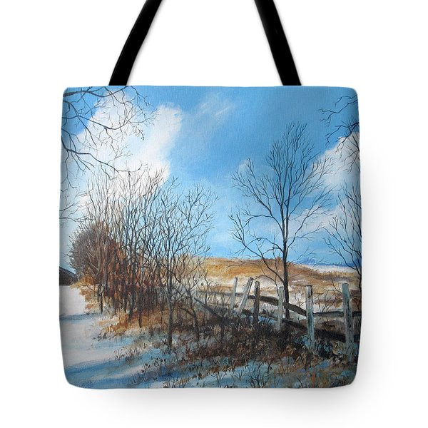 Back Slope Tote Bag
