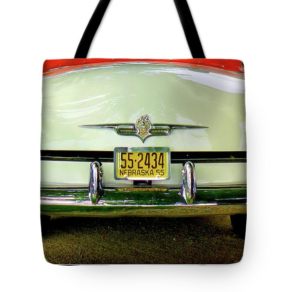 Back To 55 Tote Bag