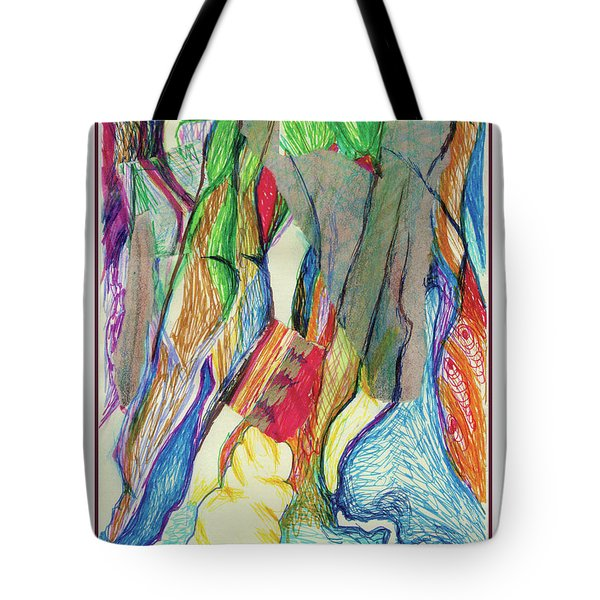 The Gathering Tote Bag by Ruth Renshaw