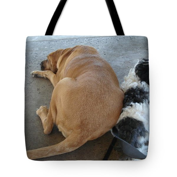 Back To Back Tote Bag by Val Oconnor
