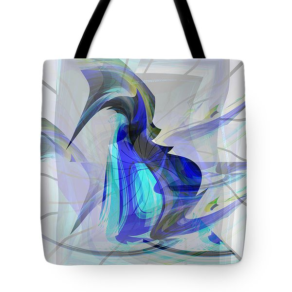 Back To Life 3 Tote Bag by Thibault Toussaint