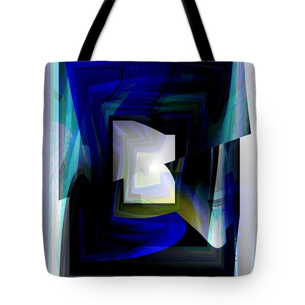 The End Of The Tunnel Tote Bag