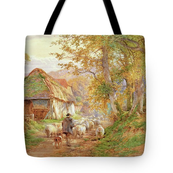 Back To The Fold Tote Bag by Charles James Adams