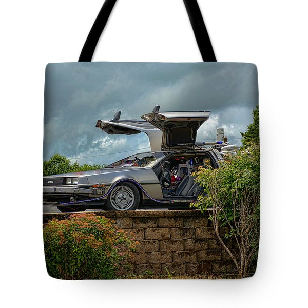 Back To The Future II Replica Tote Bag by Tim McCullough