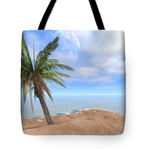 Back To The Island Moon Tote Bag
