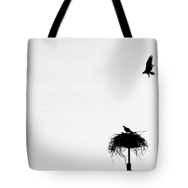 Back To The Nest Tote Bag