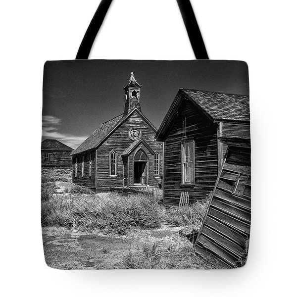 Back To The Past Tote Bag by Sandra Bronstein